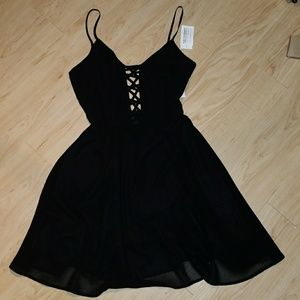 Lush Sexy Black Dress